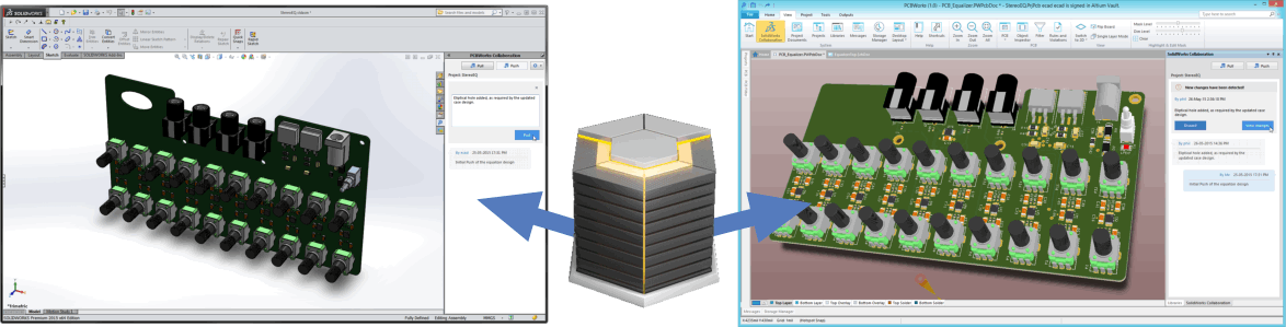 Collaborating between SOLIDWORKS PCB and SOLIDWORKS | Online