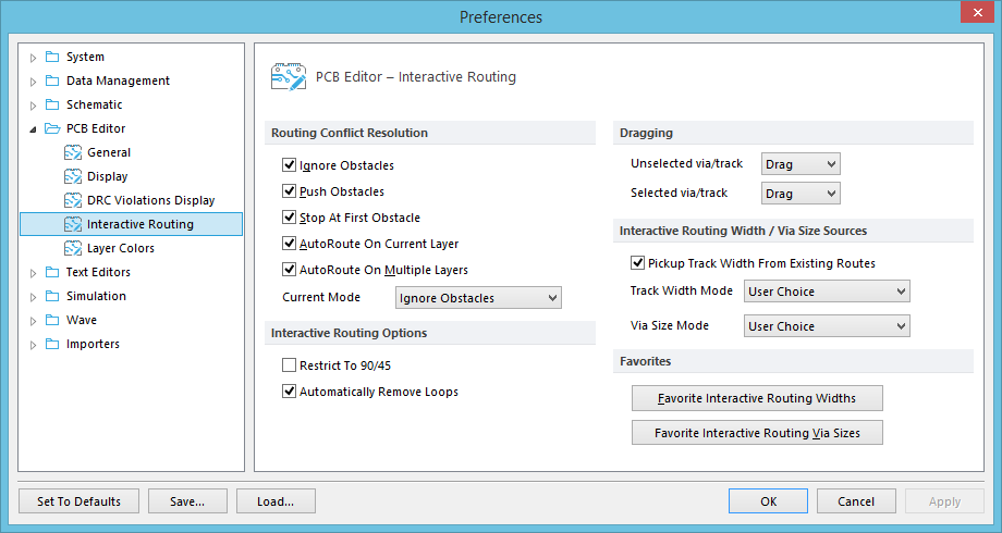 PCB Editor - Interactive Routing | Online Documentation for Altium ...