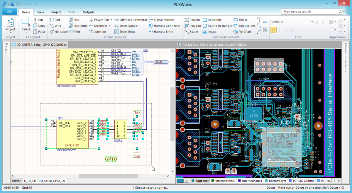 Cross Probe Select Tools Online Documentation For Altium Schematic Wire Jump Components Being Selected On The They Are Then Automatically Pcb