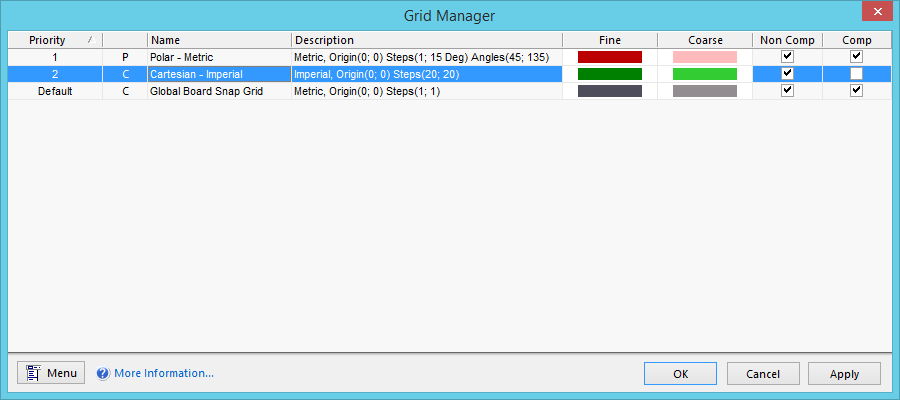 Grid Manager | Online Documentation for Altium Products