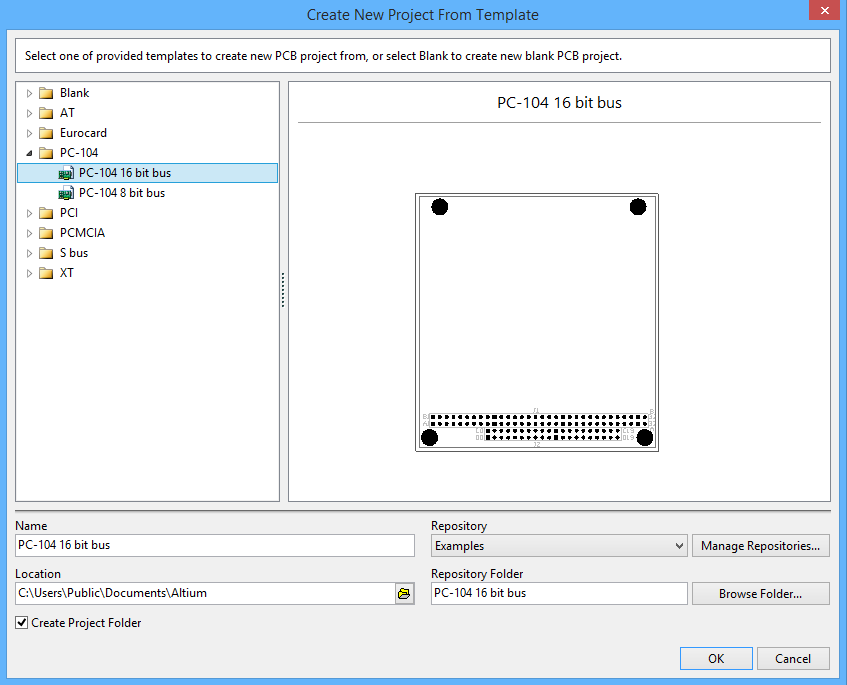 Create New Project From Template   Online Documentation for Altium ...